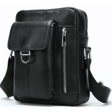 """Мужская сумка """"WESTAL"""", черная П2654"""