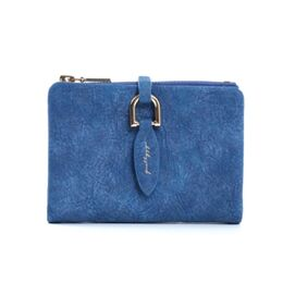 Женский кошелек, синий 0173