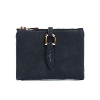 Женский кошелек, черный 0174