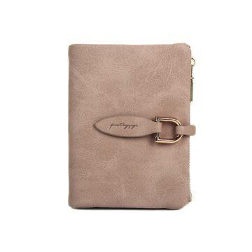 Женский кошелек, серый П0175