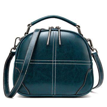 "Женская сумка ""WESTAL"", зеленая П2686"