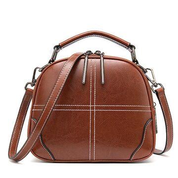 """Женская сумка """"WESTAL"""", коричневая П2757"""