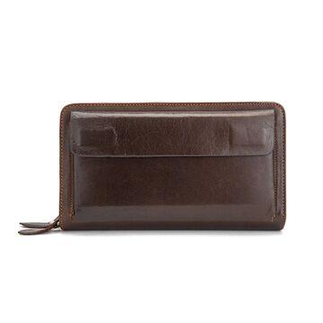 """Мужское портмоне """"WESTAL"""", коричневое П2758"""