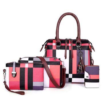 Женская сумка+клатч+кошелек+визитница П2765