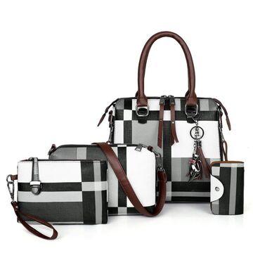 Женская сумка+клатч+кошелек+визитница П2766