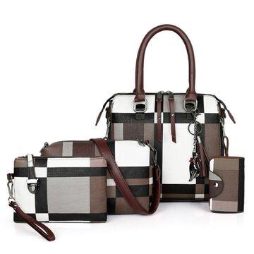 Женская сумка+клатч+кошелек+визитница П2767