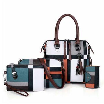 Женская сумка+клатч+кошелек+визитница П2768