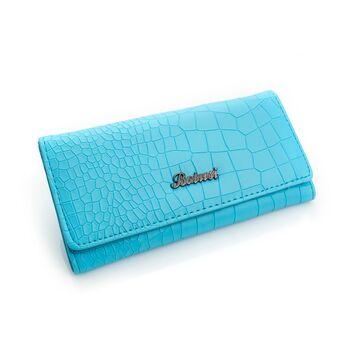Женский кошелек, голубой П0179