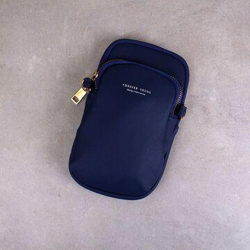 """Женская сумочка, клатч """"WEICHEN"""", синяя П2841"""