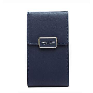 """Женская сумочка, клатч """"WEICHEN"""", синяя П2847"""