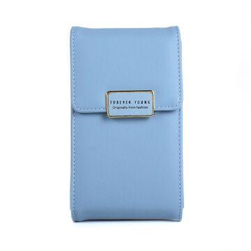 """Женская сумочка, клатч """"WEICHEN"""", синяя П2851"""