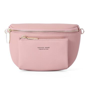 Поясная сумка, бананка WEICHEN, розовая П2857