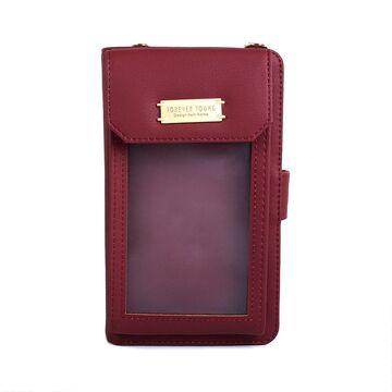 """Женская сумочка, клатч """"WEICHEN"""", красная П2860"""