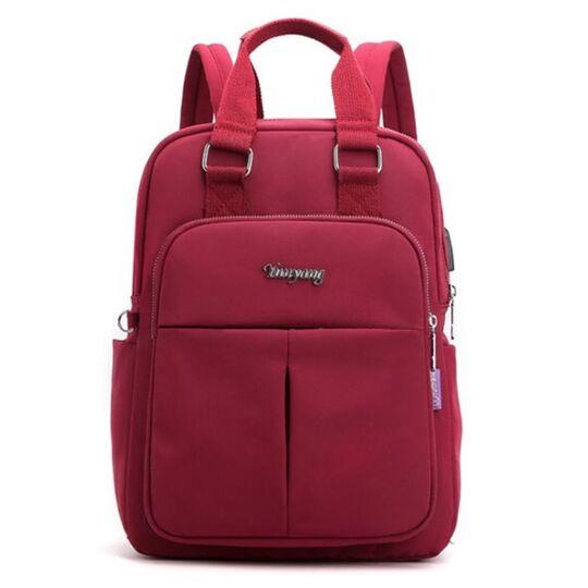 Рюкзак женский ACELURE, красный П2865