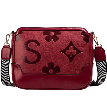 Женская сумка FUNMARDI, красная П2887