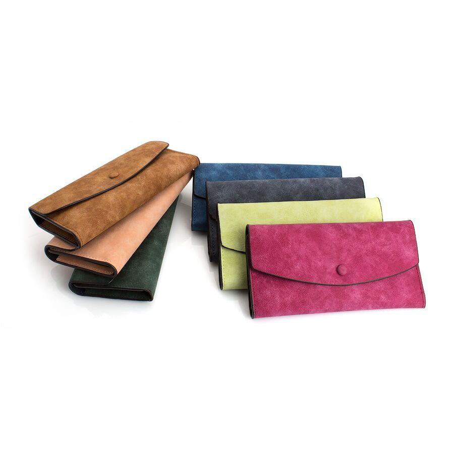 Женские кошельки - Женский кошелек, коричневый 0190