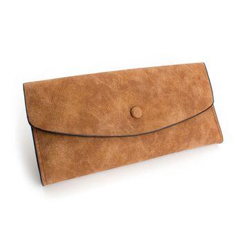 Женские кошельки - Женский кошелек, коричневый П0190