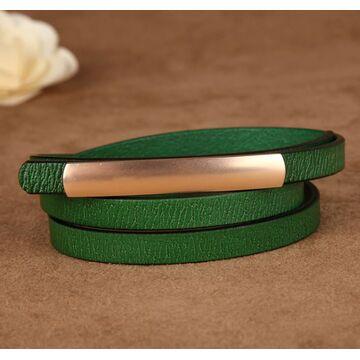 Женский ремень COWATHER, зеленый П2892