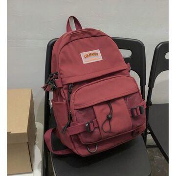 Женский рюкзак, красный  П2900
