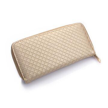 Женский кошелек, бежевый П0195