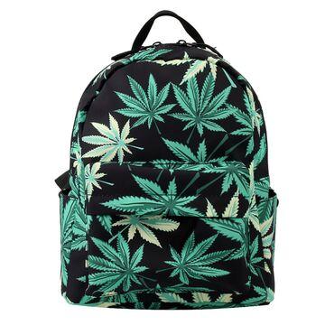 Мини рюкзак, Марихуана П2956