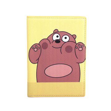 """Обложка для паспорта """"Медведь"""", П2972"""