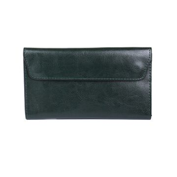 Женский кошелек, зеленый П0198