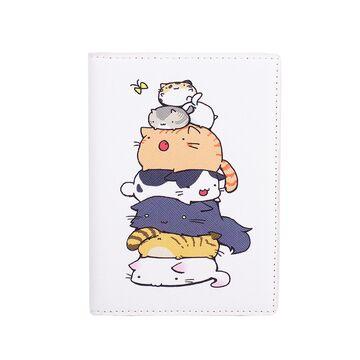 """Обложка для паспорта """"Коты"""", П2974"""