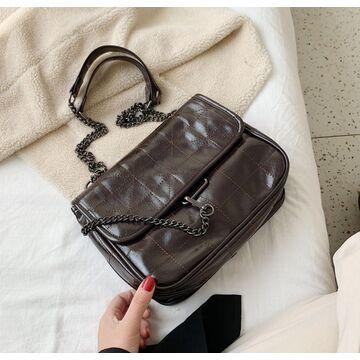 Женская сумка, коричневая П2979