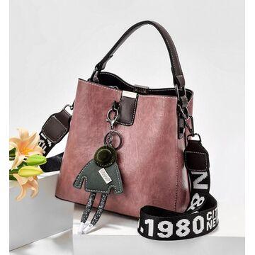 Женская сумка, розовая П2981