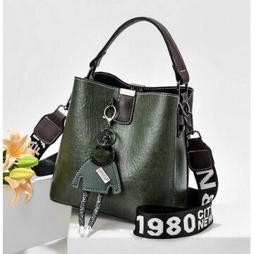 Женская сумка, зеленая П2983