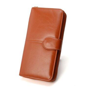 Женский кошелек Vodiu, коричневый П2988
