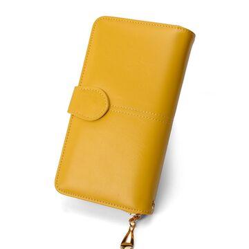 Женский кошелек Vodiu, желтый П2991