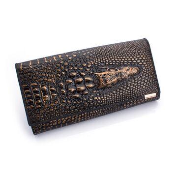 Женский кошелек, бронзовый П0201