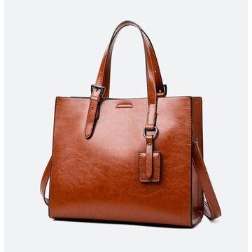 Женская сумка ACELURE, коричневая П3005