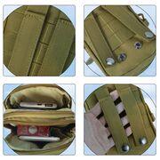 Поясные сумки - Сумка поясная армейская , хаки П3028