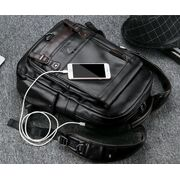 Мужской рюкзак LIELANG, черный П3031