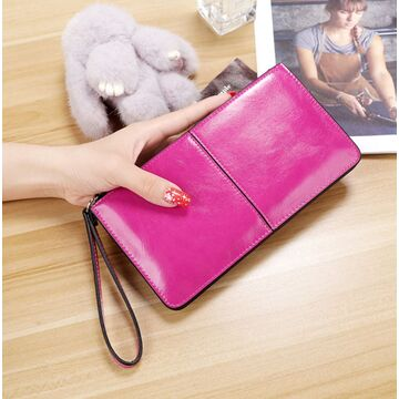 Женский кошелек, розовый П3047