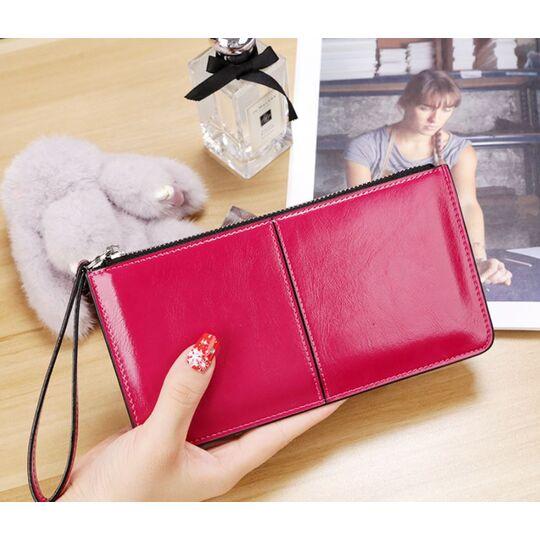 Женский кошелек, розовый П3048