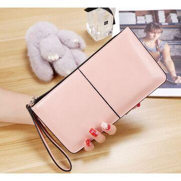 Женский кошелек, розовый П3050