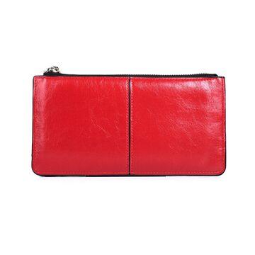 Женский кошелек, красный П3052