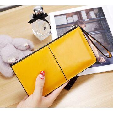 Женский кошелек, желтый П3053