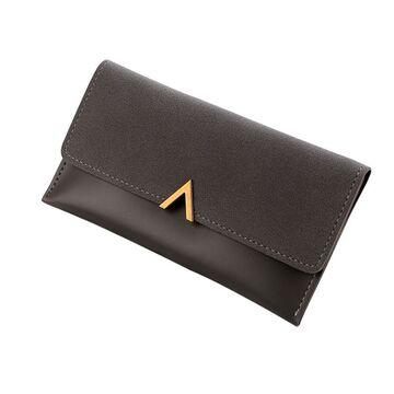 Женский кошелек, серый П3055