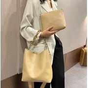 Женская сумка+косметичка, бежевая П3057