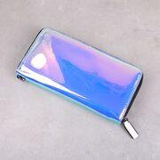 Женский кошелек, голубой - П3060