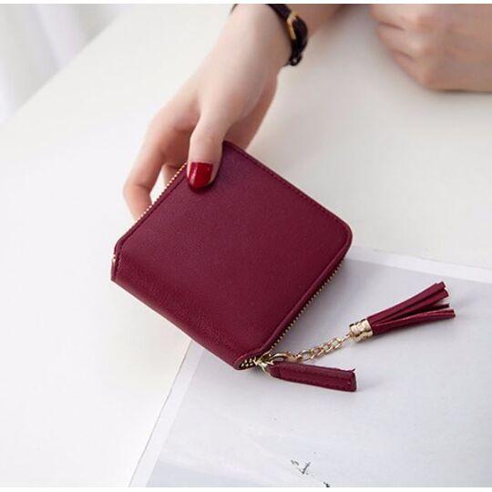 Женский кошелек, красный П3062
