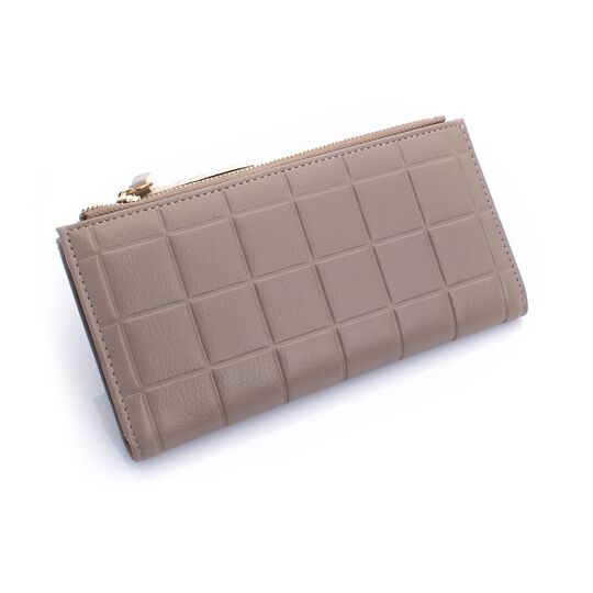 Женские кошельки - Женский кошелек, серый П0207
