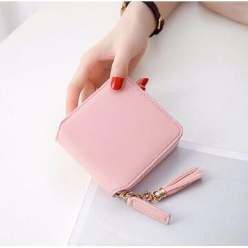 Женский кошелек, розовый П3063
