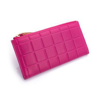 Женский кошелек, розовый 0208