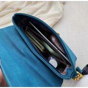 Женская сумка, синяя П3075